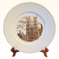 Wedgwood Westminster Abbey Dinner Plate Old London Views