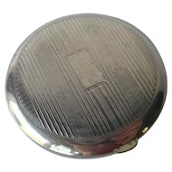 Silver Compact by Harriet Hubbard Ayer / Bridesmaid Gift / Vanity Item / Purse Accessory