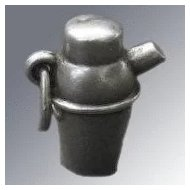 Sterling Charm Cocktail Shaker