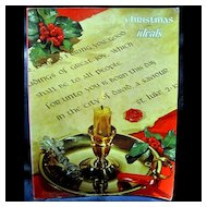 Christmas Ideals - Volume 27 No 6 November 1970 Christmas Poetry, Songs and Illustrations
