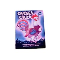 Chicken Chuck - Vintage Illustrated Childrens Book 1946
