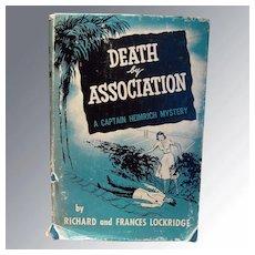 Death by Association A Captain Heimrich Mystery 1952 Mystery Novel