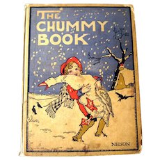 The Chummy Book Childrens Illustrated Story Collection / 1920s Childrens Book / Read Aloud Book