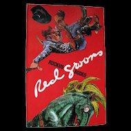 Ruckus Rodeo Pop Up Book by Red Grooms / Art Book / Sculptural Book / Western Book / Sculpto Pictorama
