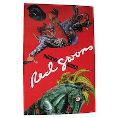 Ruckus Rodeo Pop Up Book by Red Grooms / Art Book / Sculptural Book / Western Book / Sculpto Pictorama