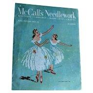 Tools Edit Promote Copy      Stats  McCalls Needlework Magazine Fall Winter 1953 / Knitting / Crochet / Home Arts / Craft / Pattern Book / Vintage Advertising