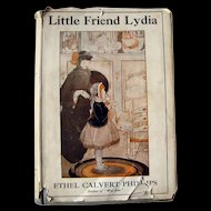Tools Edit Promote Copy      Stats  Little Friend Lydia Vintage Book / Illustrated Book / Storybook / Edith Butler
