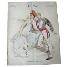 Vintage Life Magazine Otho Cushing Cover November 20 1913 / Army / Advertising / Automotive / Abraham Lincoln