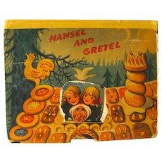 Hansel and Gretel Pop-Up Book 1961 / Color Illustration / Childrens Book / 3D Book