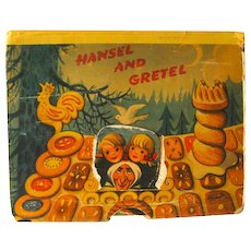 Hansel and Gretel Pop-Up Book 1961 / Color Illustration / Childrens Book / 3D Book