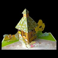 Mother Goose Pop-Up Book By Hallmark / Color Illustration / Childrens Book / Nursery Rhyme Book