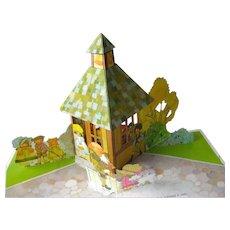 Mother Goose Pop-Up Book By Hallmark / Color Illustration / Childrens Book / Nursery Rhyme Book