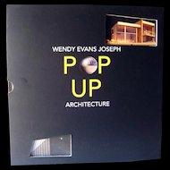 Pop Up Architecture by Wendy Evans Joseph / Popup Book / Sculpture Book
