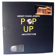 Pop Up Architecture by Wendy Evans Joseph / Popup Book / Sculpture Book