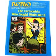 Nemo Classic Comics Library Vintage Magazine World War Two Edition Number 12 June 1985 / Beyond Mars / Kewpie Illustrations by Rose ONeill