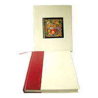 Smithsonian Book Of Books State First Edition In Cloth Slip Case by Michael Olmert - History of Type - Illuminated Manuscript