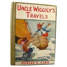 Uncle Wiggilys Travels 31 Stories By Howard Garis Illustrated by Louis Wisa - 1913 Out Of Print Rare Book - Childrens Series Book