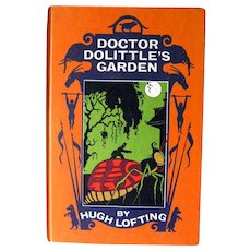 Dr Dolittles Garden by Hugh Lofting - Childrens Series Books - Animal Books - Veterinarian Book