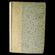 Antique Poetry Book The Poetical Works of John Milton 1892