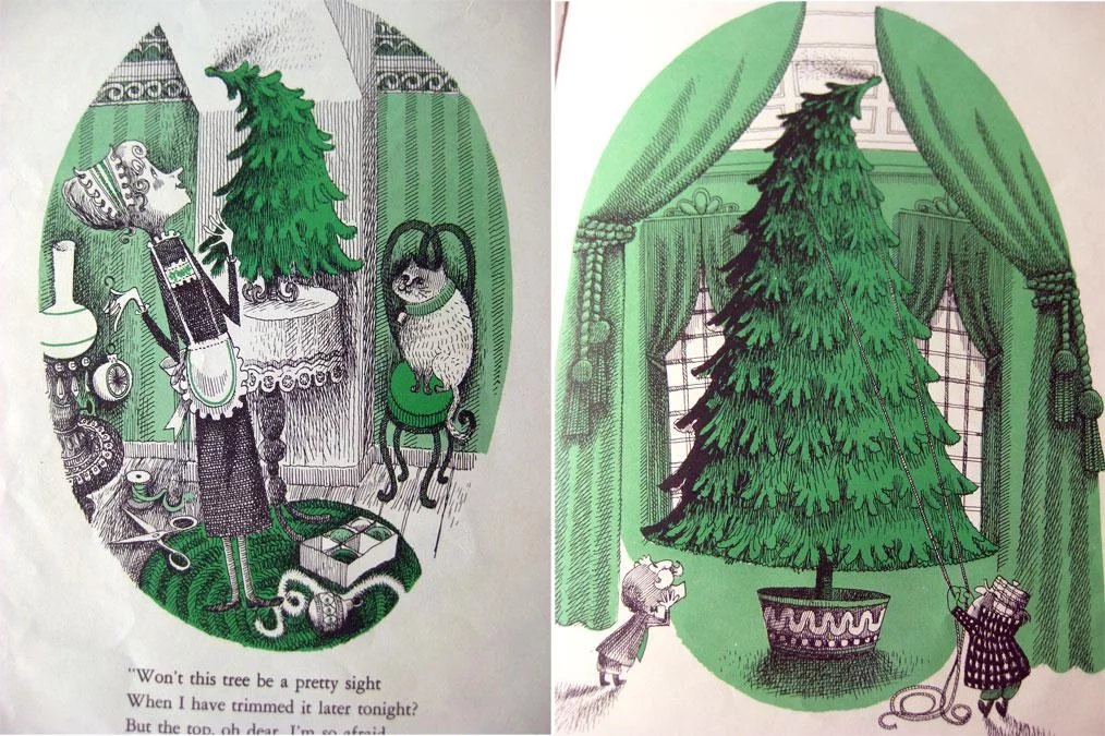 Mr Willowbys Christmas Tree By Robert Berry Vintage Childrens Book ...