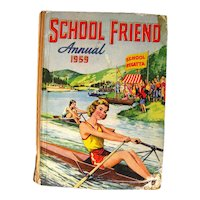 School Friend Annual 1959 Graphic Novel Collection For Girls - Graphic Novel For Teens - Girl Reading Book - Novels for Kids - Young Fiction