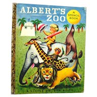 Little Golden Book Alberts Zoo - A Edition Little Golden Books - Kids Books