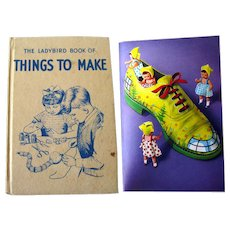 Things To Make Ladybird Book - Craft Book - Making Toys - Childs Activity Book