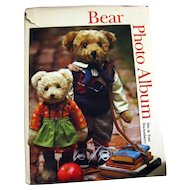 Teddy Bear Photograph Book - Bear Photo Album - Teddy Bear Photos