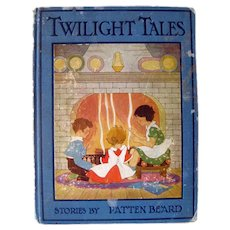 Illustrated Childrens Book Twilight Tales - Kids Gift - Nursery Decor