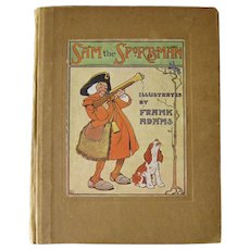 RARE Illustrated Book - SAM THE SPORTSMAN by Fran Adams - Collectible Book