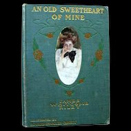 An Old Sweetheart Of Mine Vintage Poetry Book - Howard Chandler Christy Illustrator - Collectible Books
