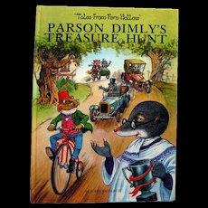 Vintage Childrens Book by John Patience Parson Dimlys Treasure Hunt - Read Aloud Book - Kids Books