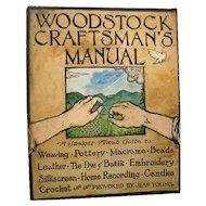 Woodstock Craftsmans Manual 1st Edition - Vintage Craft Book