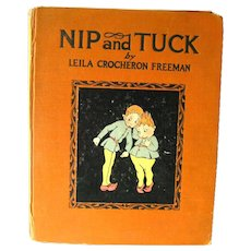RARE Childrens Book Nip And Tuck - 1st Edition J H Sears - Childrens Literature