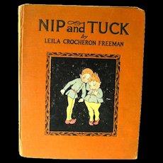 RARE Childrens Book Nip And Tuck - 1st Edition J H Sears - Childrens Literature