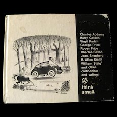 Promotional Volkswagen Book Think Small - Vintage Automoble