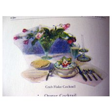 Advertising Recipe Book From Frigidaire - 1920s Kitchen - Vintage Recipes