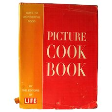 Oversized Picture Cook Book From Time-Life - Out Of Print Cookbooks