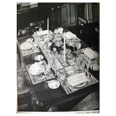 Vintage Manners Book - The New Book Of Etiquette 1930s