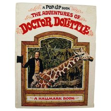 The Adventures Of Doctor Dolittle Pop Up Book - Collectible POPUP Book