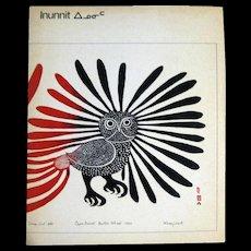 Eskimo Art Book - Innuit Art - Inuit Artwork - Vintage Art Books