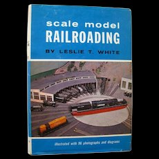 Model Railroad Book Scale Model Railroading - HO Trains - Miniature Trains
