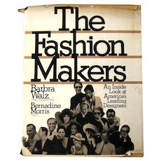 THE FASHION MAKERS 1970s Fashion History Book American Fashion in the 80s