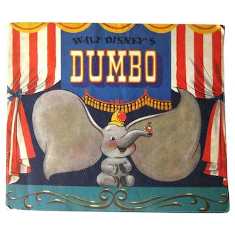 Walt Disney Collectible Book DUMBO Disney Animation Walt Disney Productions