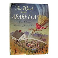 Vintage Childrens Book The Wind And Arabella First Edition