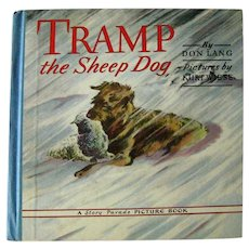Kurt Wiese Illustrated Book TRAMP THE SHEEPDOG Vintage Childrens Book