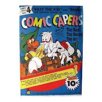 Comic Capter Cardboard Toy Dime Store Toy - Comic Art