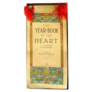 Sweetheart Gift The Year Book Of The Heart Volland Publishing Sentimental Calendar Art Deco Poetry Book