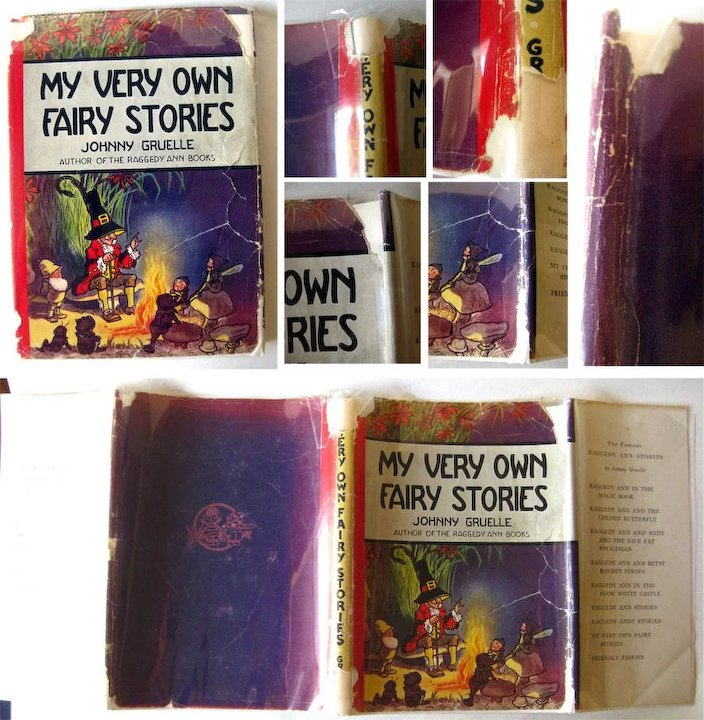 My Very Own Fairy Stories Illustrated And Written By Johnny Gruelle