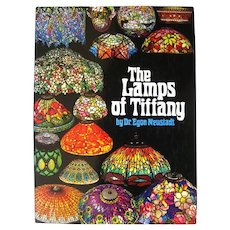 Collectible Book The Lamps Of Tiffan Tiffany Stained Glass Art Book Oversized Book